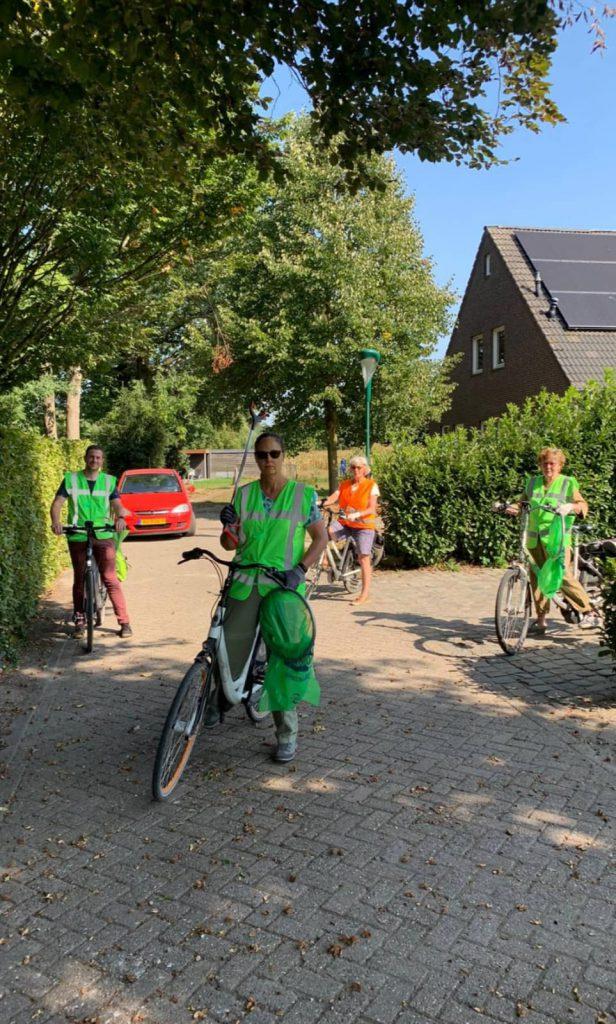 GroenLinks-PvdA Bergeijk schoont Luyksgestel op